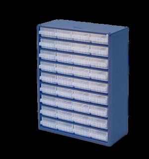 DRAWERBOX AP 36  | Skrinka s 36 plastovými zásuvkami