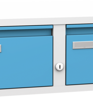 FILECAB K A5 2/2 5012 | Kartotéková skriňa na formát A5
