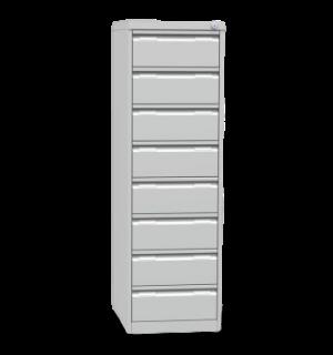 FILECAB KA A6 8 | Kartotéková skriňa na formát A6 s 8 zásuvkami