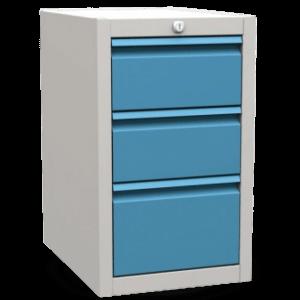 CONTI HANG UP 600/360 3D | 3-zásuvkový závesný dielenský kontajner k pracovným stolom