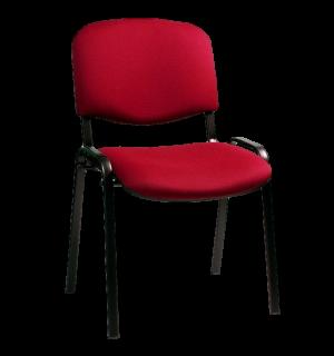 SEAT IN KON RD  | Konferenčná stolička stohovateľná – červená