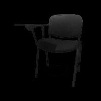 SEAT IN NS DESK BK | Konferenčná stolička s písacím pultom