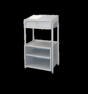 SMARTTROLLEY 1217/644 | Pojazdný dielenský vozík s písacím pultom