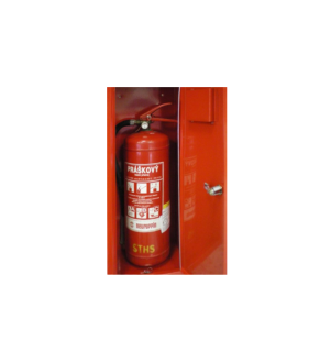 FIREEXTCAB MK 640/250/200 9010   Skrinka na hasiaci prístroj
