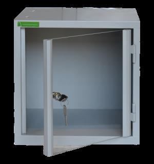VBOX H 380/380/380 VARIO Plexi | Skrinka na úschovu cenností s plexisklom
