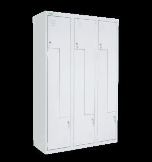 LOCKER H Z6 350 | 6-dverová šatníková skriňa so Z-kovými dverami so šírkou 350 mm